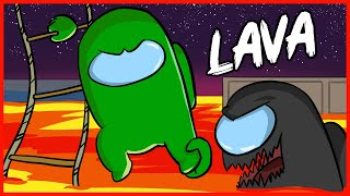 LAVA DISASTER EVERYDAY LIFE - AMONG US WORST TIMMING