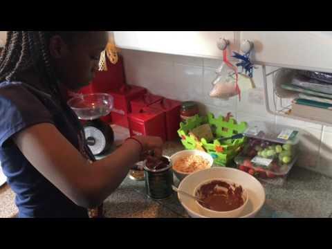 Chocolate Rice Crispy Cake 🎂