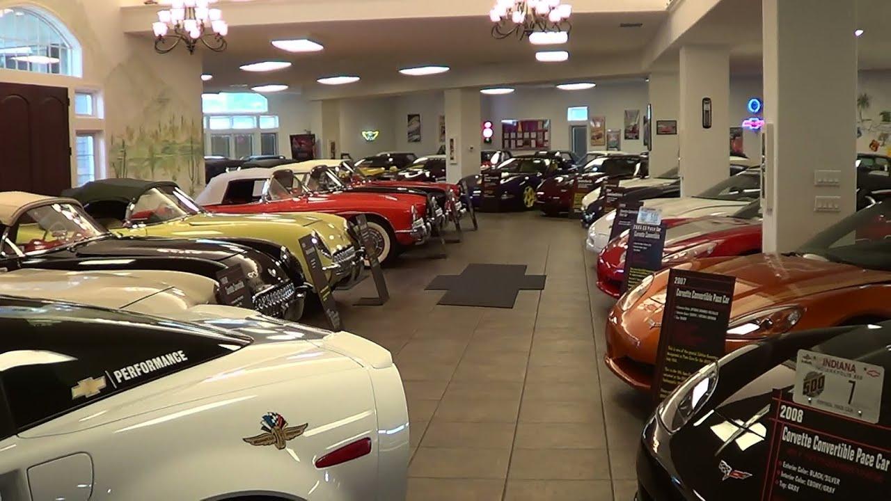 Private Corvette Collection Youtube