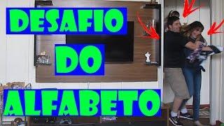 MELHOR DESAFIO DO ALFABETO EM FAMÍLIA COM VÍDEO CASSETADA
