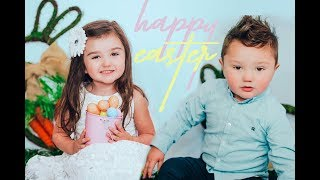 JWOWW, Meilani & Greyson's Easter Photos - Behind The Scenes