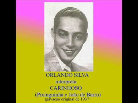 Carinhoso Orlando Silva Gravação Original W Translation Youtube