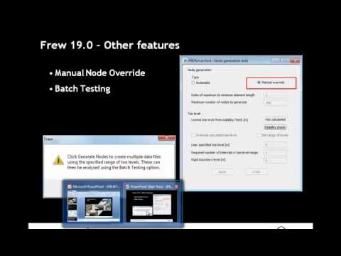 An introduction to Oasys Frew