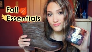 My Fall Essentials: Clothing, Makeup, and Room Decor!