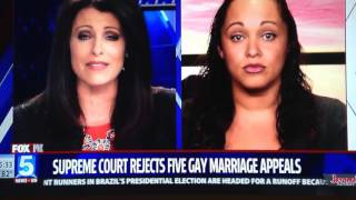 Deanne Arthur talks to Fox 5 San Diego about the latest on same sex marriage