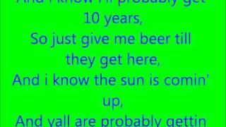 Bartender (lyrics)