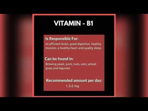 Important information about vitamins & food sources & Healthy lifestyle.