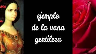 Rosa divina que en gentil cultura - Sor Juana Inés de la Cruz