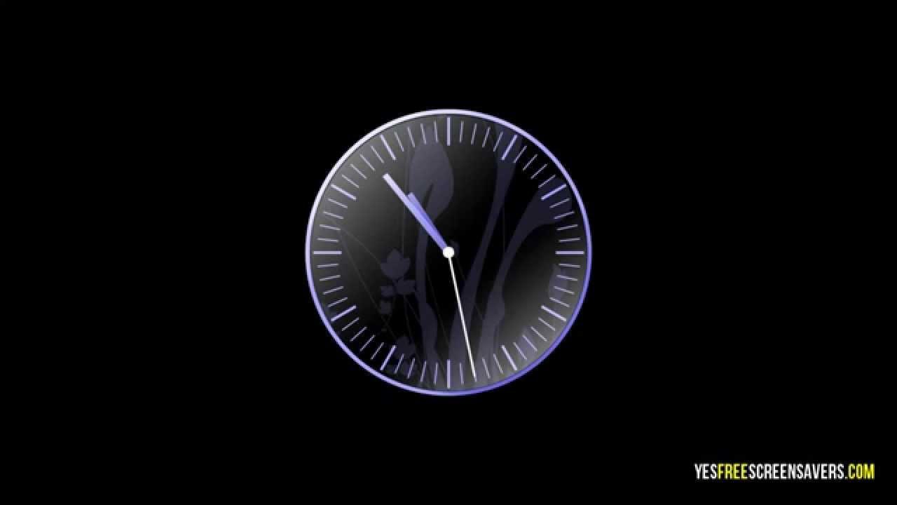 TOP15 Clock Screensaver — Free Analog Clock Screensavers for Windows