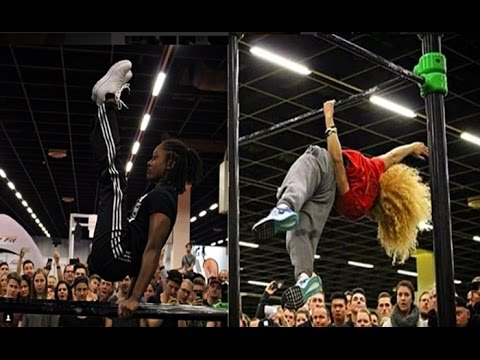 QUEEN OF THE BAR 2016 - INCREDIBLE CALISTHENICS WOMEN BATTLES
