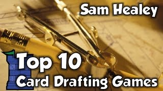 Top 10 Card Drafting Games - with Sam Healey