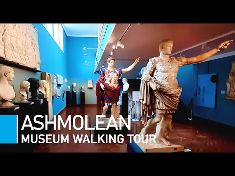 Inside The Ashmolean 2021 | Walking Through Oxford University's Museum of Art and Technology