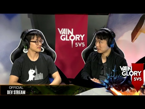 Vainglory Developer Stream