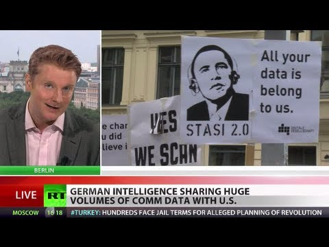 'National Stasi Agency': Germans furious over intel sharing with NSA