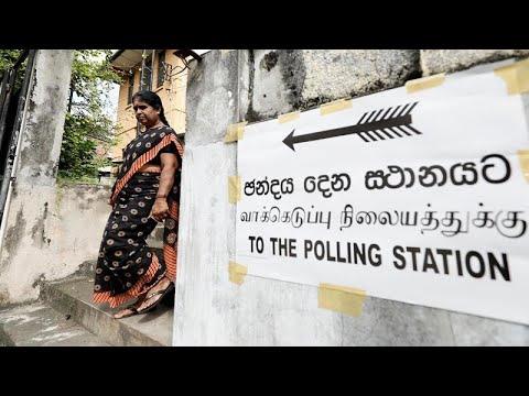Sri Lanka elige a su presidente en medio de un clima de tensión