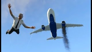 GTA 5- Airplane Worst Emergency Landing Ep #2✦Stunning Compilation