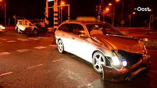 Automobilisten komen met de schrik vrij bij ongeluk in Zwolle