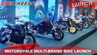Motoroyale Multi-brand Bike Launch: FB Mondial, SWM, Norton, Hyosung and more!