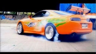 How to be Paul Walker | Burnouts Donuts Drifts | Tribute Video