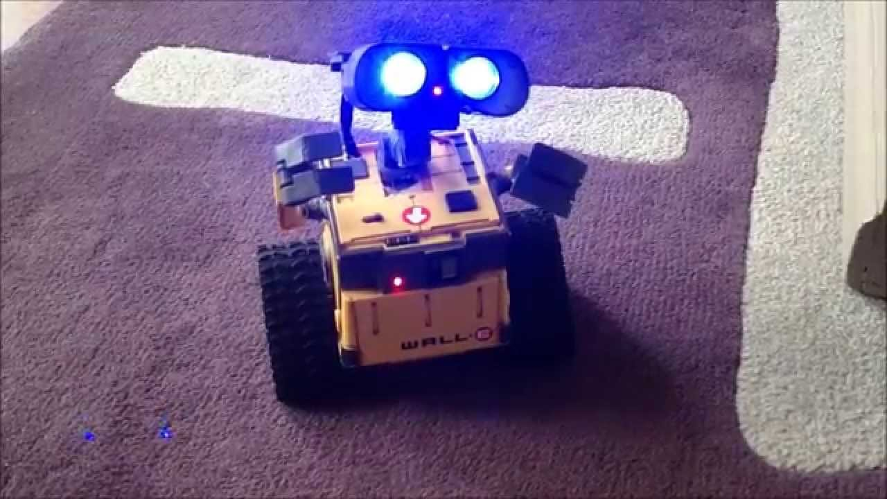 Wall e robot with arduino doovi