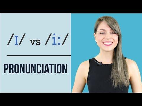 /ɪ/ vs /i:/ |  Learn English Pronunciation | Minimal Pairs Practice