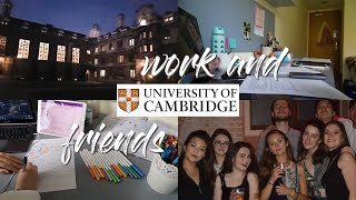 CAMBRIDGE UNIVERSITY VLOG 4 - Work and Friends
