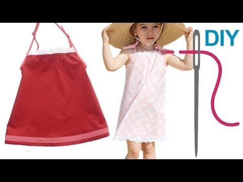 DIY Kleid nähen für Anfänger – Trägerkleid – Zierstoff Schnittmuster ...