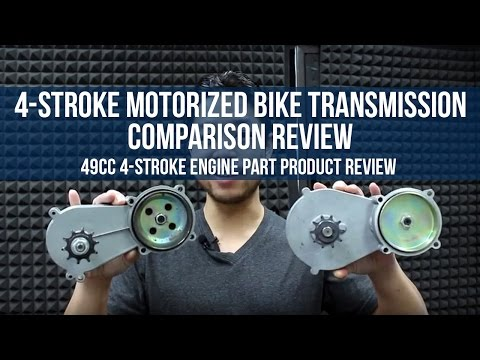 4-Stroke Transmission Comparison Review for Motorized