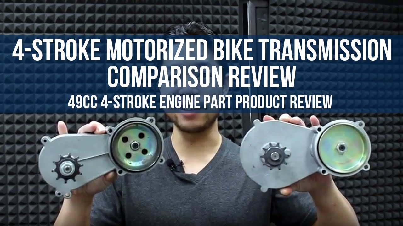4 Stroke Transmission Comparison Review For Motorized Bicycles Motorcycle Engine Diagram Bikeberrycom Youtube