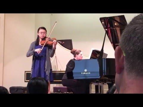 Amanda Hsieh Violin Recital - 20160521