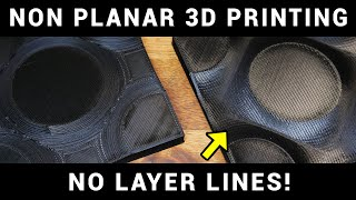 Achieve true 3D printing with non planar slicing