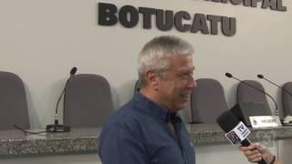 Vereador de São Paulo, Mario Covas Neto, visita a Câmara