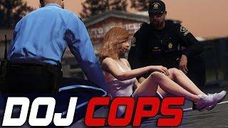 Dept. of Justice Cops #731 - Medical Emergency
