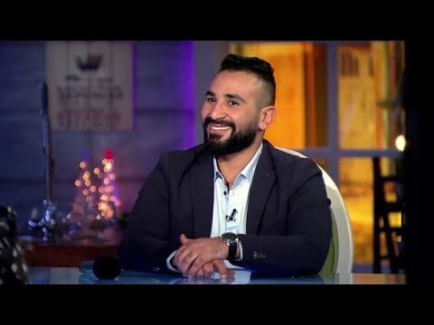 اضحك مع احمد سعد وشيماء سيف وهما بيلعبوا لعبة أبجد هوز😂😂