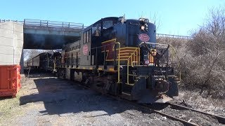 The Catskill Mountain Railroad Easter Bunny Express 3/31/18