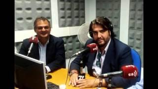 Gonzalo Castañeda y el alcalde de La Laguna  Idilio en las ondas