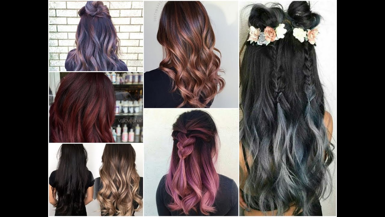 50 Cool Balayage Ideas For Brunettes Summer Hair Color Trends 2018 Youtube
