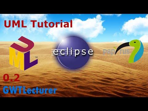 UML Tutorial 0.2 - Installing the Eclipse Papyrus plugin for Java UML Modelling