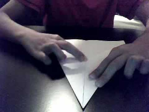 how to make a very good paper plane