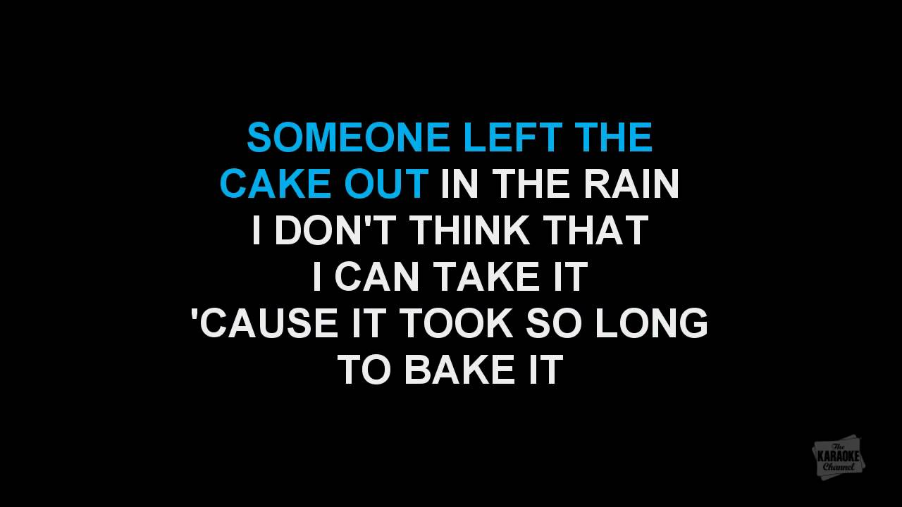 Macarthur Park in the style of Donna Summer karaoke video with lyrics