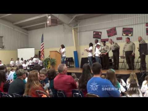 CHAMPS graduation at East Newton Elementary School