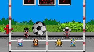Pixel Volley ios gameplay