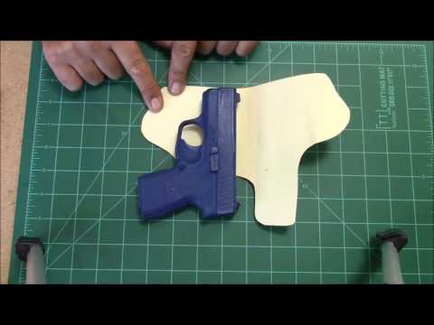How to make a holster pattern..
