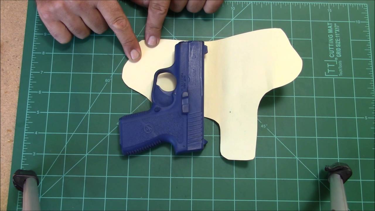 picture about Printable Holster Patterns named How toward generate a holster behavior..