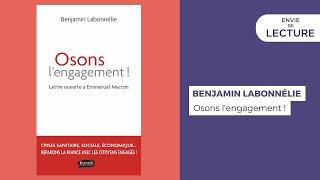 Envie de lecture – Emission de juin 2021. Rencontre avec Benjamin Labonnélie