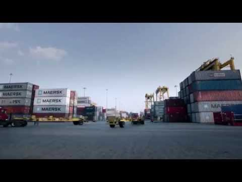 Jebel Ali Free Zone Authority JAFZA and logistics port