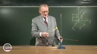 Модель декартовой системы координат.