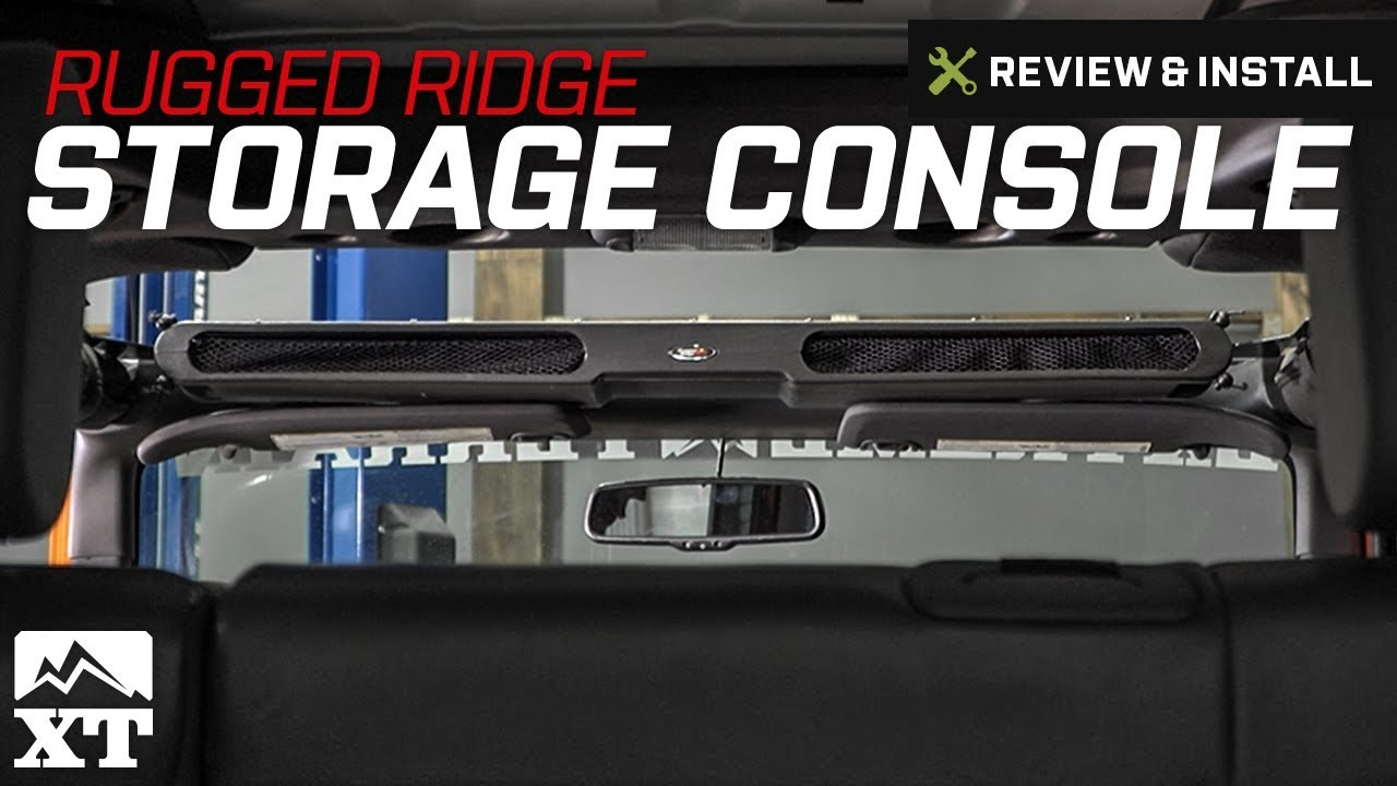 Wrangler Rugged Ridge Composite Overhead Storage Console