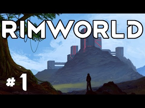 RimWorld Alpha 16 - Ep. 1 - Random Wanderlust! - Let's Play RimWorld Alpha 16 Gameplay