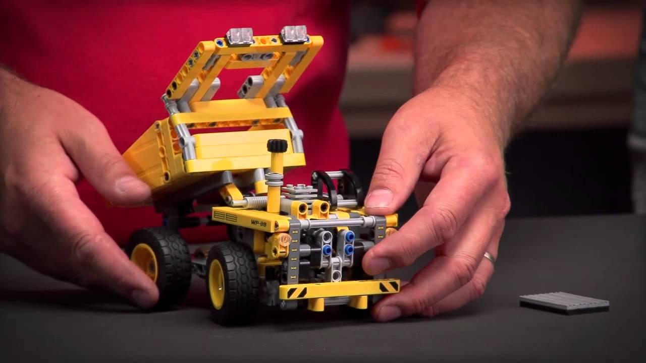 lego technic 42035 mining truck muldenkipper youtube. Black Bedroom Furniture Sets. Home Design Ideas